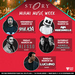 STORY and LIV Host Choice Events During Miami Music Week 2017