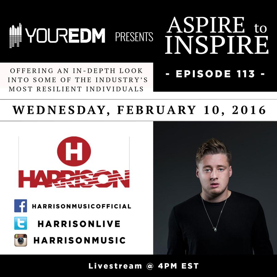 Aspire to Inspire 113: Harrison