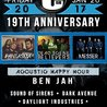 Friday- 19th Anniversary at The Curtain Club