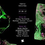29.4 fabric: Mathew Jonson (Live), Jackmaster & Nick Curly