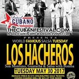 Los Hacheros Live Salsa Tuesday - Presale tickets now!