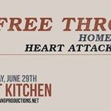 Free Throw with Homesafe and Heart Attack Man at Beat Kitchen