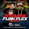 21 Savage and Hot97 Dj Funk Flex at Club Angels Live