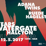 Adana Twins + Ruede Hagelstein 15 Years Watergate Records Tour at Halcyon