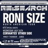 RE:Search - Roni Size w/ Special Guests plus Mikey Thunder & Jubee at Cervantes' Other Side