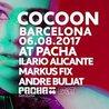 Cocoon pres. Ilario Alicante, Markus Fix at Pacha Barcelona