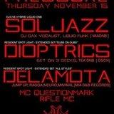 Pressure with Soljazz (LIVE) / Dioptrics / Delamota / MC Q