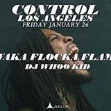 Waka Flocka Flame and DJ Whoo Kid at Control