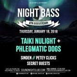AC Slater x LED Present: Night Bass - Taiki Nulight + Phlegmatic Dogs