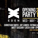 Eden Opening party 2018
