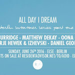 All Day I Dream Returns to Berlin