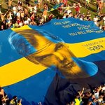 Huge Tomorrowland Avicii flag for sale with proceeds going to charity