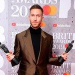 Calvin Harris performs extended mega-mix at the BRIT Awards